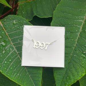 "NEW!! 💚 Birth Year Necklace ""1999"""